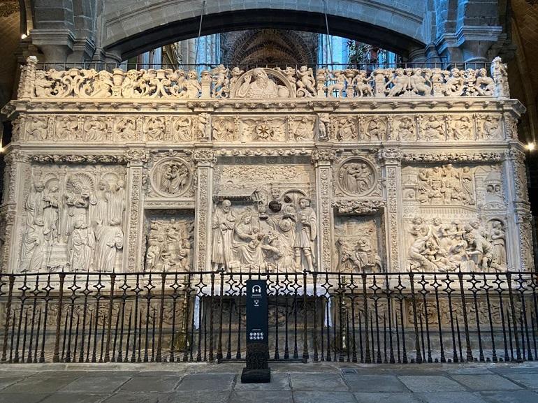 trascoro de la catedral de ávila