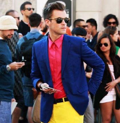 Actualidad ropa masculina