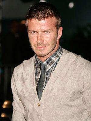 Moda masculina-David Beckham