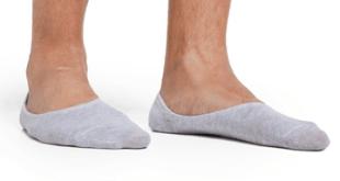 Los calcetines invisibles para hombre