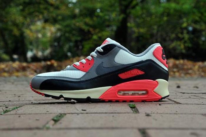 nike4 Vuelven las Nike Air Max 90 Infrared