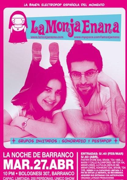 La Monja Enana en Lima, por La Monja Enana