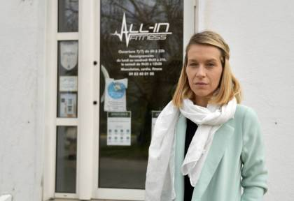 """The All-in Health gymnasium in Vichy (Allier) closed on April 3: """"Covid-19 has completed killing us"""""""