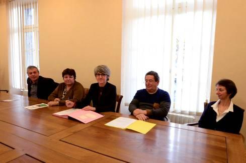 Signature convention mediation familiale - Michèle DELPY