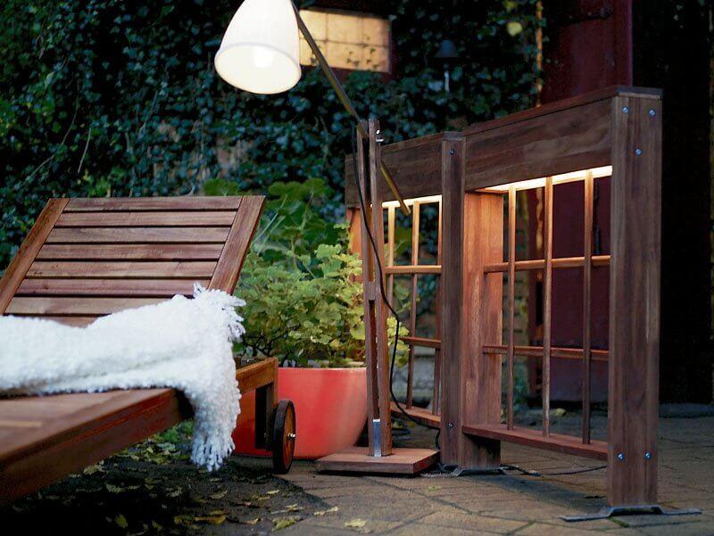 lampadaire exterieur ikea pour jardin