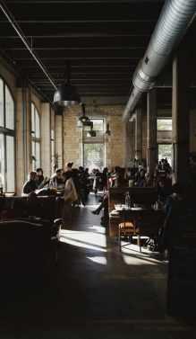Arredo industriale ristorante