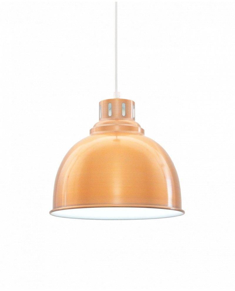 lampada fabbrica anni 50 in rame per location