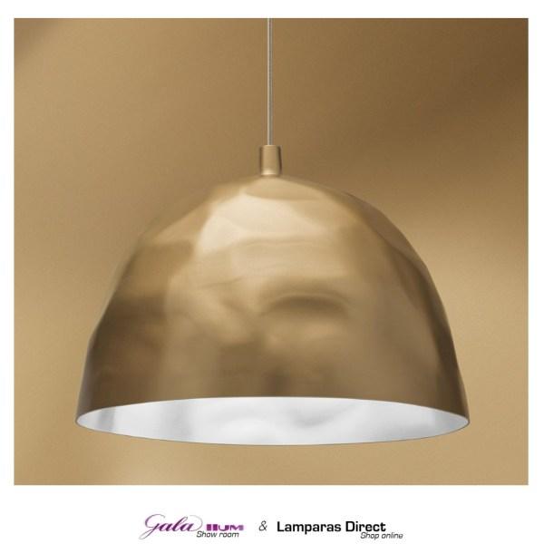 lámpara colgante semiesférica