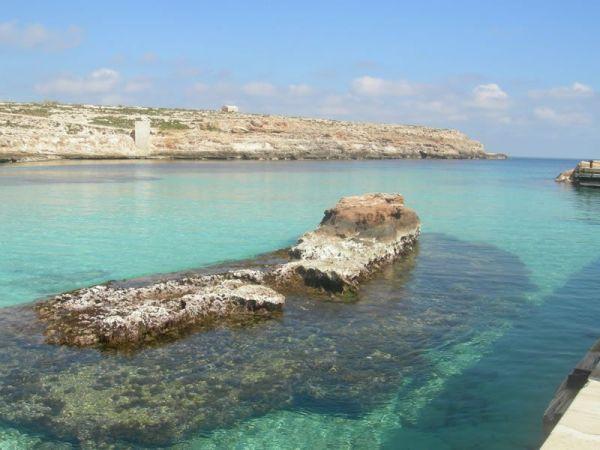 Cala Pisana lampedusa spiagge