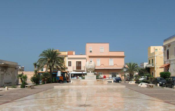 Fontana Cascella Lampedusa