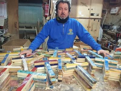 Francesco Tuccio | Un particolare Falegname di Lampedusa