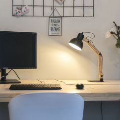 LED bureaulamp Woodi