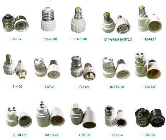Cfl Light Bulb Base Types