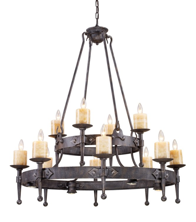 Elk Lighting 14006 8 4 Cambridge Twenty Four Light Chandelier