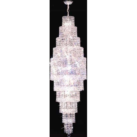 James Moder 92168s22 Crystal Prestige Twenty Eight Light Chandelier