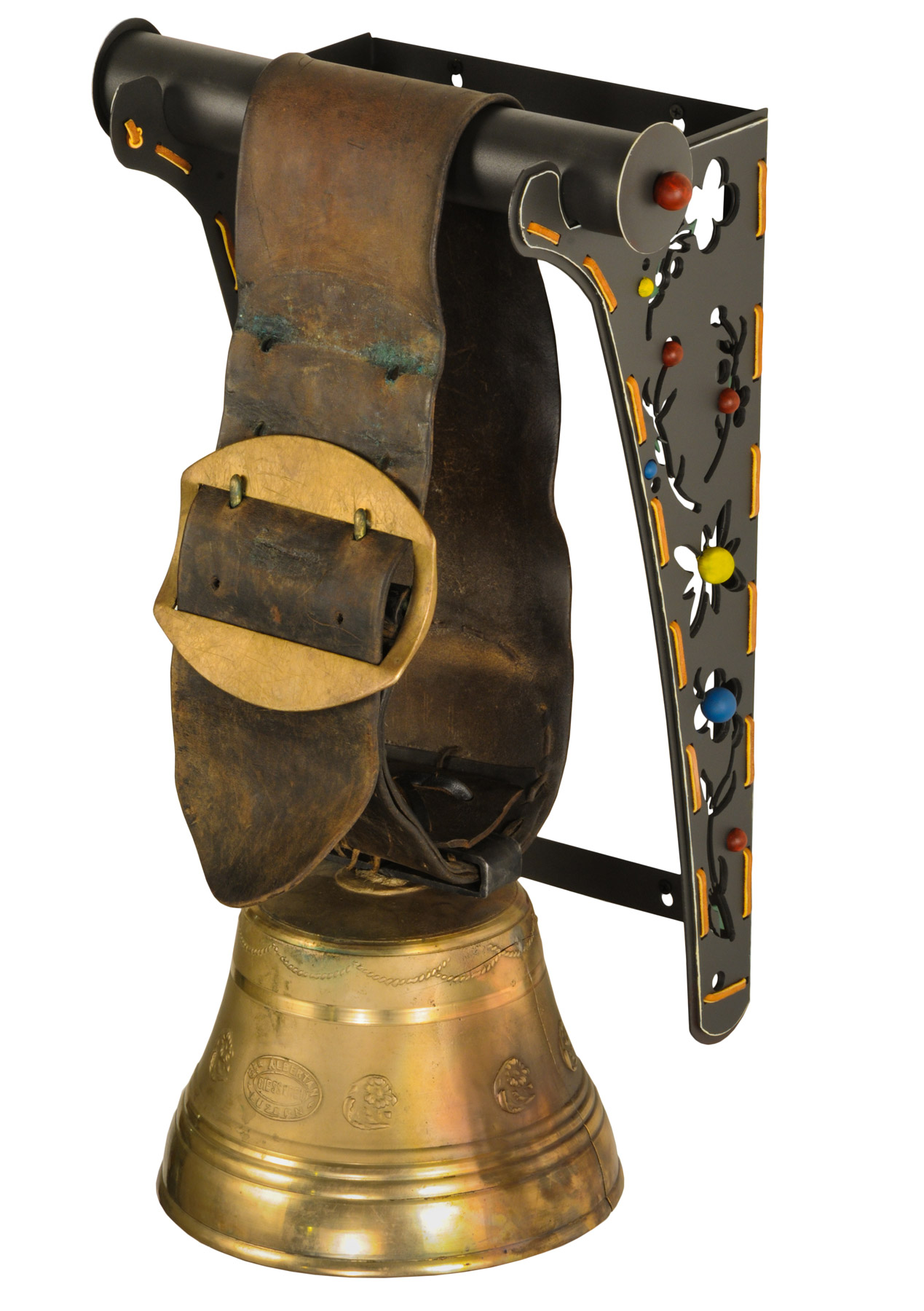 Meyda 150519 Swiss Cow Bell Decorative Wall Bracket