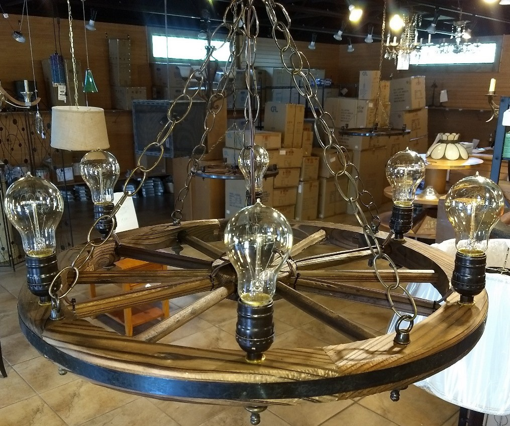 Rustic Light Bulbs