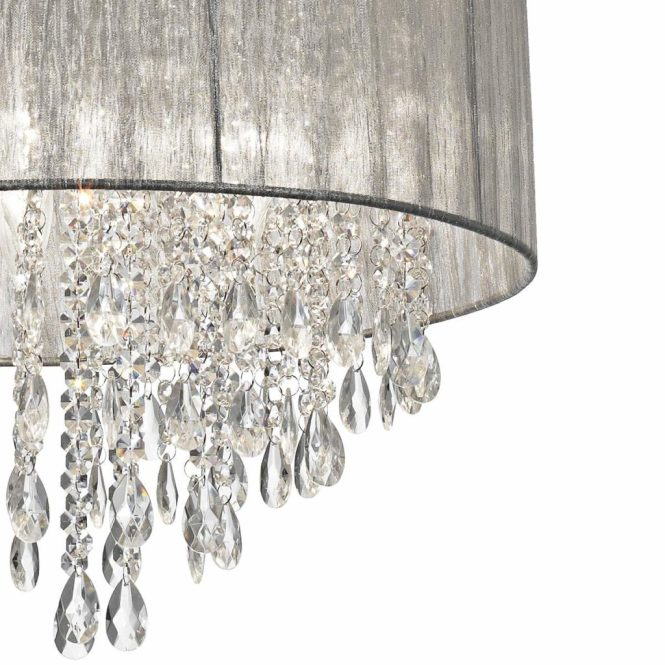 A Crystal Chandelier At Lamps Plus