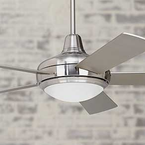 Ceiling Fans   Designer Looks  New Ceiling Fan Designs   Lamps Plus Ceiling Fans with Lights