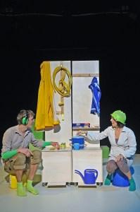 THEATER KARO ACHT  -  THEATER FUR NIEDERSACHSEN - Das kleine Blau und das kleine Gelb -