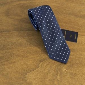 Cravatta fantasia fondo blu mod. 149