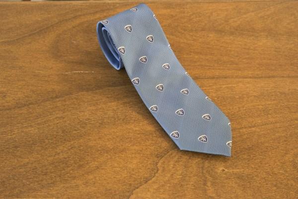 Cravatta fantasia fondo celeste mod. 207