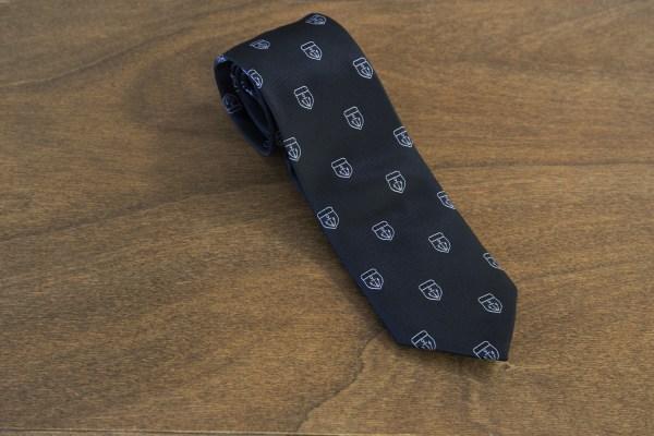 Cravatta fantasia fondo nero mod. 217
