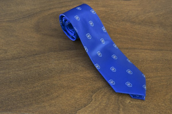 Cravatta fantasia fondo azzurro mod. 221