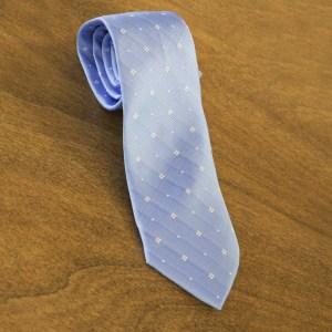 Cravatta fantasia fondo celeste mod. 039