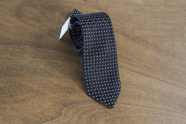 Cravatta fantasia fondo nero mod. 056