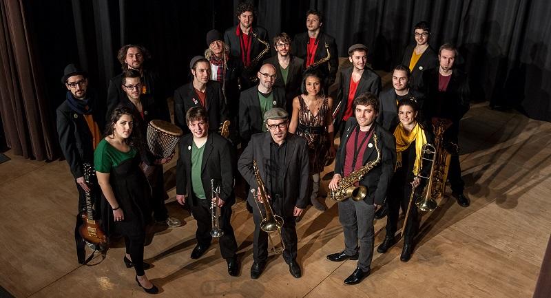 La North East Ska Jazz Orchestra al gran completo