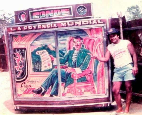 Colombia sound system, un esempio di originale iconografia