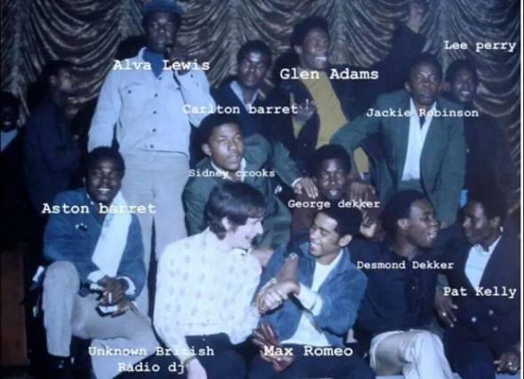 Alcuni artisti fondamentali per la nascita della Trojan Records