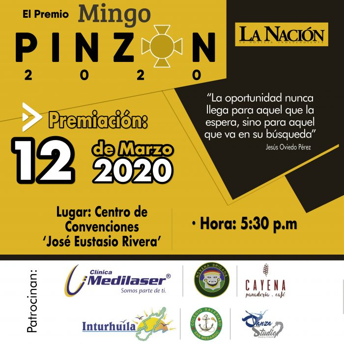 Premios Mingo Pinzón 1 10 abril, 2020