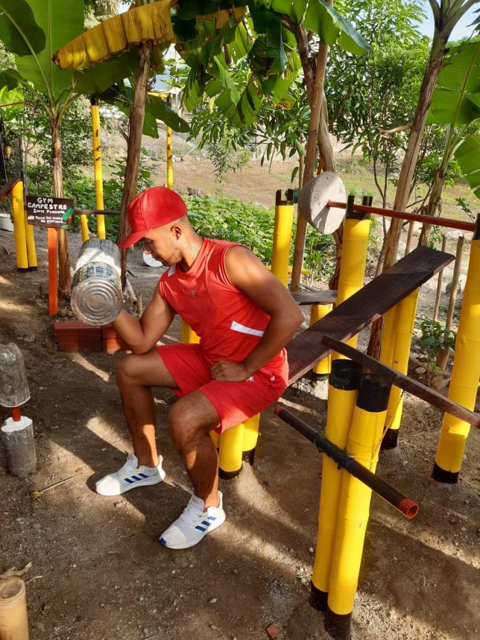 El gimnasio ecológico de Sammy en Campoalegre 7 27 mayo, 2020