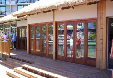 lanai doors wood bi folding glass door