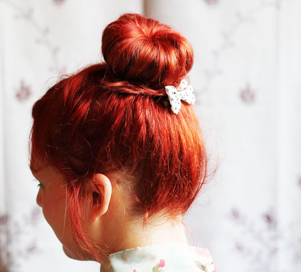 HAIR DIY Easy Bun
