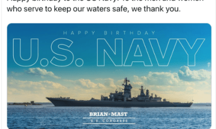 GOP congressman celebrates US Navy birthday by promoting Russian fleet