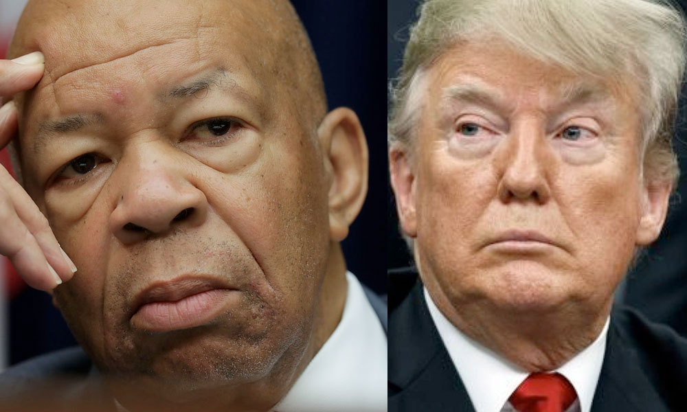 'Christian' talk radio claims Elijah Cummings was struck down by God for opposing Trump
