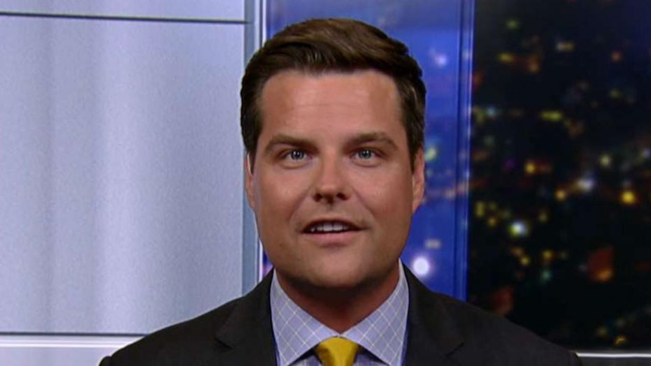 Dems boot Matt Gaetz from impeachment hearing for attempting to spy for the White House
