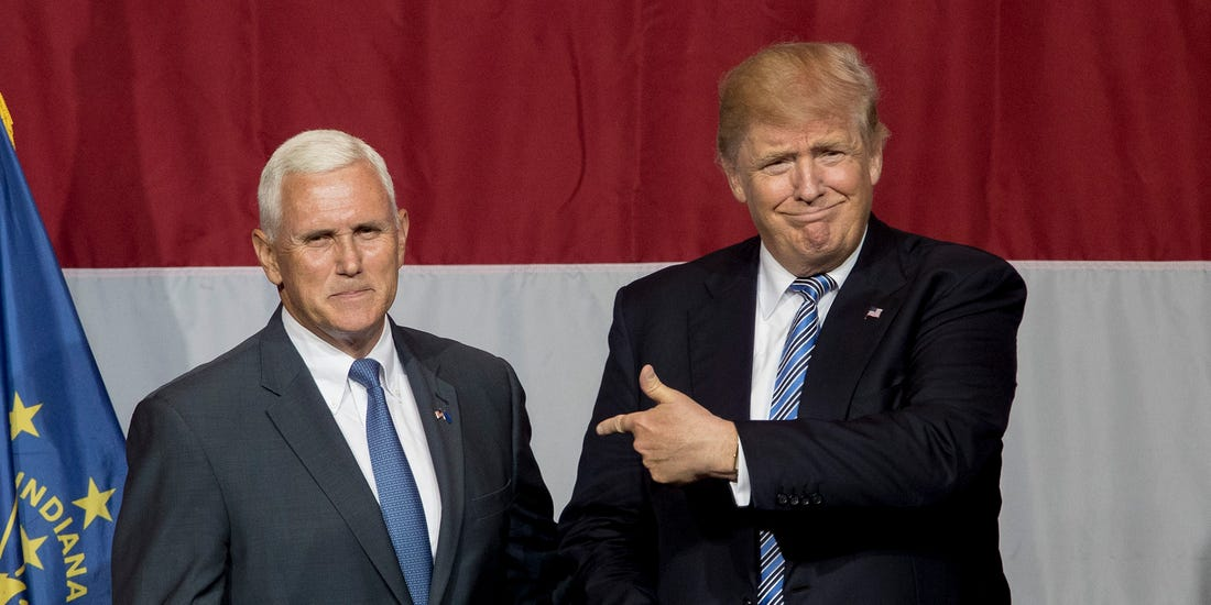 Nervous Trump sends Pence to three battleground states as reelection chances dim