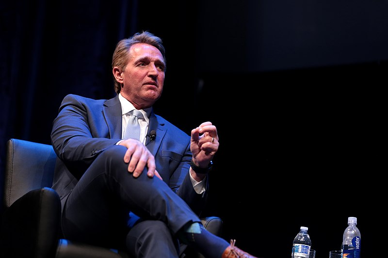 Former GOP Senator Flake torches his party for their surrender