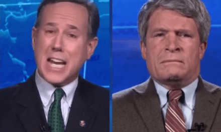 Bush ethics lawyer Richard Painter destroys Rick Santorum on impeachment
