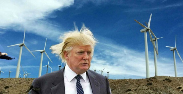Incoherent Trump attacks windmills AGAIN: 'I never understood wind'