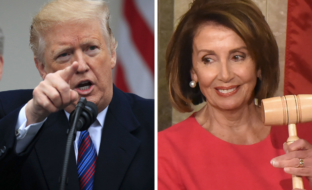 Trump attacks Nancy Pelosi for daring to use a cough drop during a press conference