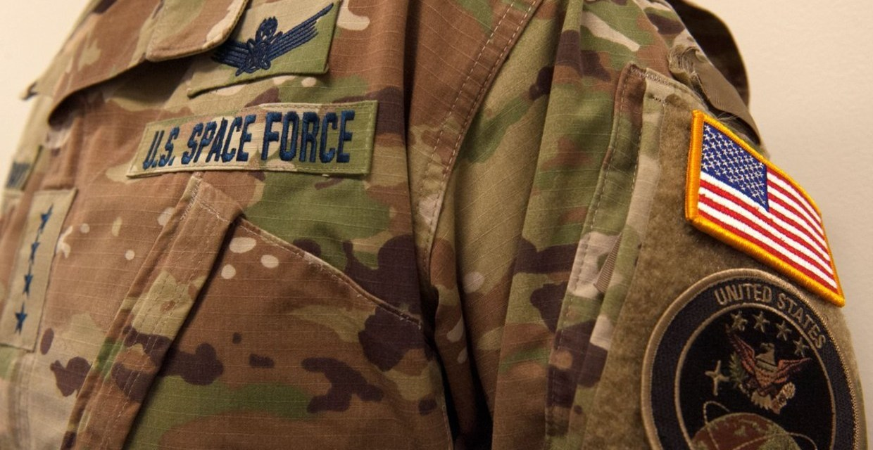 Trump's Space Force gets mocked for wearing camouflage uniforms