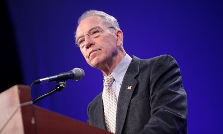 Internet ROFLs after Chuck Grassley accidentally implies Trump is a toddler