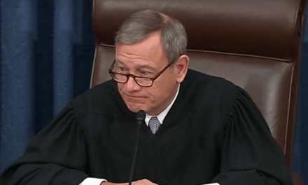 Chief Justice John Roberts disgraces his robe with partisan attack on Democratic Senate leader