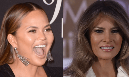 Chrissy Teigen brilliantly skewers Melania Trump and her New Year's resolution