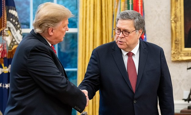 Barr is roasted after feigning frustration with Trump